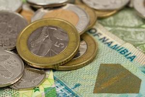 Banknoten der südafrikanischen Länder foto