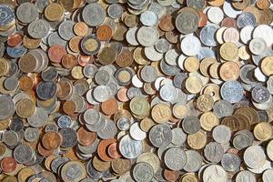 alte Münzen foto