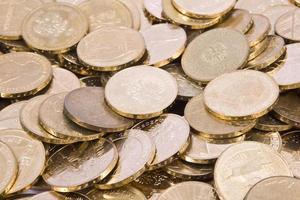 polnische zloty pln Münzen foto