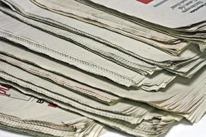 Zeitungen foto