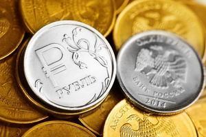 russische Rubel foto