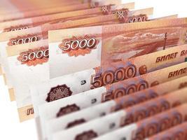 russische Währung foto