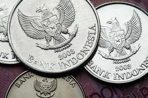 Münzen von Indonesien foto