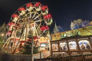 weihnachtsmarkt in braunschweig foto