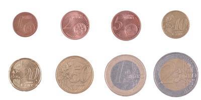 Münze Euro foto
