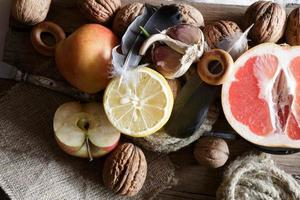 Lebensmittelhintergrund foto