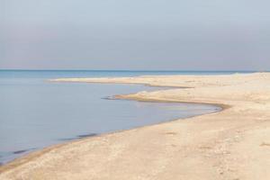 verlassene Seelandschaft foto