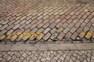 portugiesische Straßensteine foto