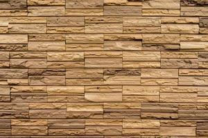 Steinmauer aus Blöcken