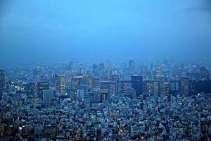 Tokio in der Abenddämmerung