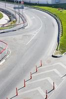 Straßenkreuzung foto