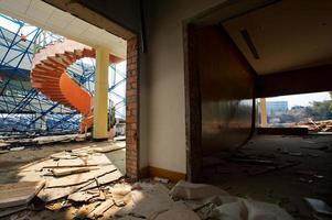 das zerstörte Haus foto