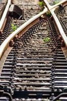 Bahnstrecke foto