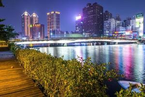 Taiwans zweitgrößte Stadt - Kaohsiung foto
