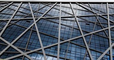 zeitgenössisches Design von Glaswolkenkratzern, geschäftlicher Hintergrund foto
