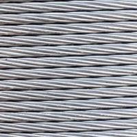 Stahldrahtseil Kabel Hintergrund. foto