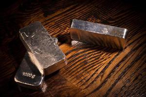 Silberstillleben foto