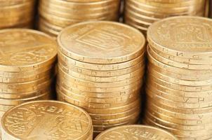 Münzen Textur foto