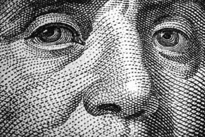 Benjamin Franklin Augen foto