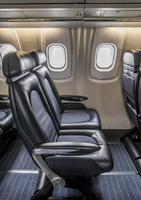 Luxus-Jet-Sitzplätze foto