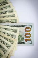 hundert amerikanische Dollar foto