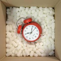 Gegenstände verpacken foto