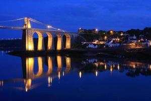 Menai-Brücke foto