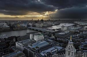 London von der St. Paul Kathedrale