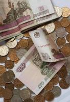 russischer Rubel foto