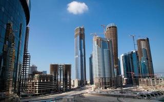 Bauarbeiten Abu Dhabi foto