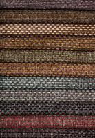 Polstertextilien Materialien verschiedene Farbtöne