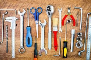 Werkzeuge und Instrumente foto