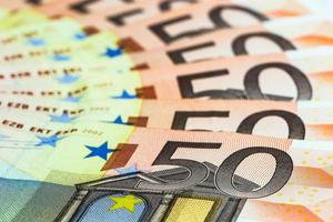 fünfzig Euro Banknoten foto