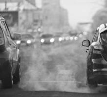 Straßenroute verwischen LKW