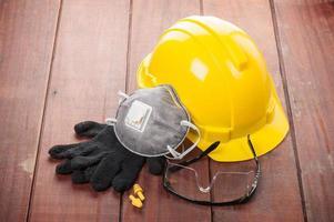 persönliche Sicherheitsausrüstung foto