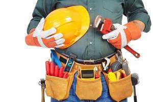 reifer Auftragnehmer und Instrumente foto