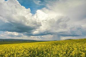 regnerische Wolken foto