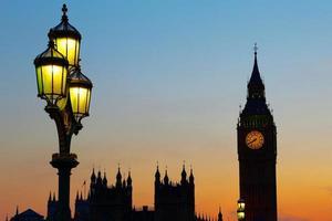 Abend in London City