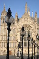 Parlamentsgebäude, Westminster; London foto