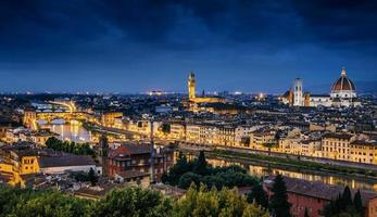 Florenz Skyline foto