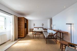Innenraum des Hotelzimmers foto