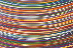 farbige elektrische Kabel und Drähte foto