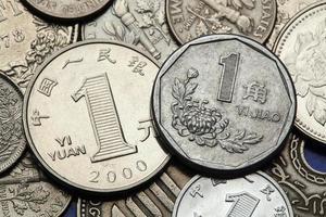 Münzen aus China foto
