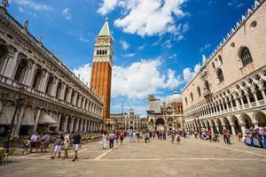 San Marco Piazza in Venedig foto