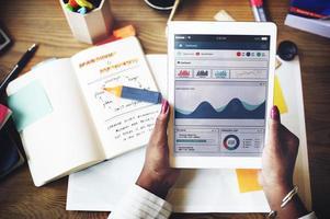 Strategiekonzept für die Planung der Unternehmensgründung foto