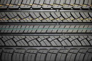Reifen für Hintergrund strukturiert. Gummi