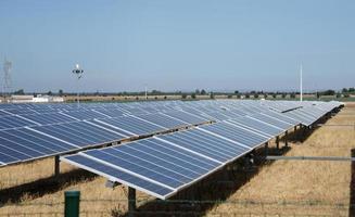 Sonnenkollektoren in Portugal foto