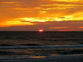 Sonnenuntergang 07. Februar 17 2015 foto