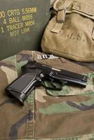 militärische Seitenwaffe foto