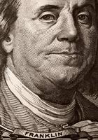 Benjamin Franklin Porträt foto